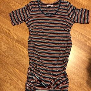 Motherhood Stripe Dress XL